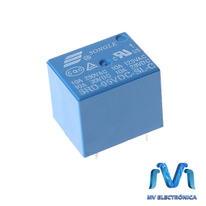 RELEVADOR RELAY DE 5V 10A SONGLE 5 PINES