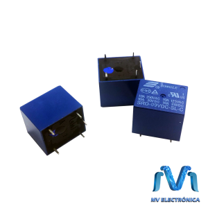 RELEVADOR RELAY DE 9V 10A SONGLE 5 PINES