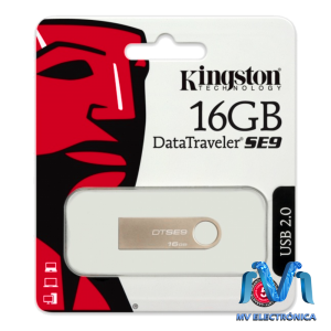 MEMORIA KINGSTON DE 16GB DATATRAVELER SE9 USB 2.0