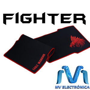 MOUSEPAD MOUSEPAD FIGHTER GAMING 800MM X 350MM 100% CAUCHO NATURAL EAGLE WARRIOR