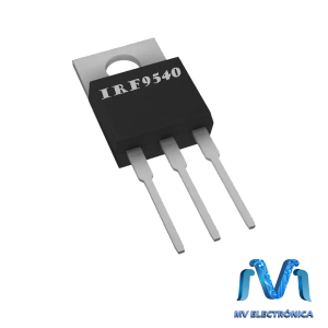 TRANSISTOR IRF9540 MOSFET, TO220 100V 12A